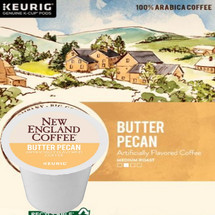 New England Coffee Butter Pecan Coffee K-Cup® Pod. Compatible with most or all single cup brewers including Keurig® and Keurig® 2.0.