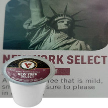 Victor Allen's Coffee New York Select Coffee Single Cup. A classic coffee that is mild, smooth and is sure to please in every sip. Compatible with most single cup brewers including Keurig and Keurig 2.0.