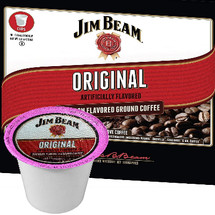 Jim Beam Original Bourbon Coffee Single Cup. Compatible with most single cup brewers including Keurig and Keurig 2.0.