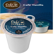 Cafe Escapes Cafe Vanilla Coffee K-Cup A tantalizing cup of the world's favorite flavor