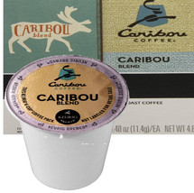 Caribou Blend Coffee K-Cup  This signature blend balances a big-bodied, syrupy taste with a clean, snappy finish.