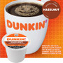Dunkin' Hazelnut Coffee K-Cup. Dunkin' unique blend of 100% Arabica beans with the taste and aroma of sweet, roasted hazelnut.