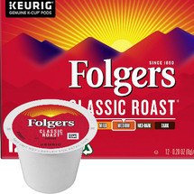 Folgers Gourmet Selections Classic Roast Coffee K-Cup, Folgers Gourmet Selections® Classic Roast Coffee is made from Mountain Grown® beans, the world's richest and most aromatic