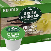 Green Mountain French Vanilla Coffee K-Cup Pod. Just try to resist the enticing aromas of our new French Vanilla coffee! Lusciously rich and smooth with the flavors of sweet vanilla cream. Compatible with most single cup brewers including Keurig and Keurig 2.0.