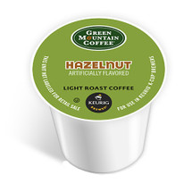 A lighter roasted coffee, this Hazelnut is buttery and sweet with the rich flavor of warm roasted nuts.