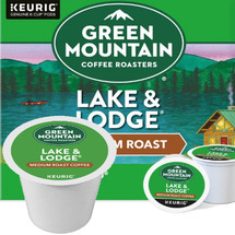 Green Mountain Lake & Lodge Coffee K-Cup. Compatible with most single cup brewers including Keurig and Keurig 2.0.