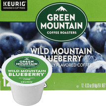 Green Mountain Wild Mountain Blueberry Coffee K-Cup. The sweet flavor of juicy sun-kissed blueberries, baked to perfection in a buttery crust. It's Fair Trade, too!