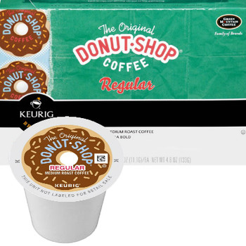 The Original Donut Shop Extra Bold Coffee K-Cup® Pod. The Original Donut Shop Coffee. Remember the good ol days with this sweet, full-bodied all-American classic. Compatible with most or all single cup brewers including Keurig® and Keurig® 2.0