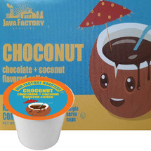 Peanut butter and jelly, salt and pepper, apple pie and ice cream... some things were just made to go together. That's why we've blended chocolate, coconut, and coffee into one decadent combination. Whether you're nuts about chocolate or crazy for coconut these luscious flavors will satisfy your cravings.