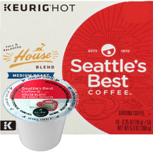 Seattle's Best Coffee House Blend Coffee K-Cup® Pod. Home is where stories start—and our home is Seattle. Wherever you've gotten to, House Blend brings you home. Compatible with most single cup brewers including Keurig & Keurig 2.0.