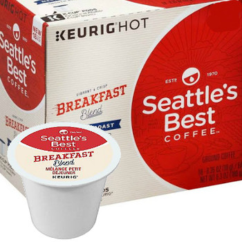 Seattle's Best Coffee Breakfast Blend K-Cup. Imagine waking up, smiling, just before the alarm goes off. Feeling so full of energy that anything is possible. That's the feeling of Breakfast Blend. It may be a long day ahead, but you can't wait to dig in. Compatible with all single cup brewers.