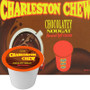 Charleston Chew Chocolatey Nougat Hot Cocoa Single Cup. Compatible with most single serve brewers including Keurig and Keurig 2.0.