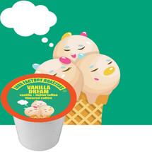 Java Factory Vanilla Dream Coffee Single Cup. Vanilla + Toffee Flavored.