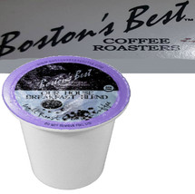 Boston's Best Coffee Roasters Our House Breakfast Blend Coffee Single Cup. Compatible with most or all single cup brewers including Keurig® and Keurig® 2.0