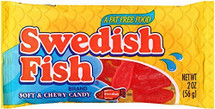 12 packs  Swedish Fish