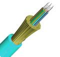 12 Fiber 50/125 OM4 Tight Buffer Indoor Plenum Premise Cable CP012C551C01