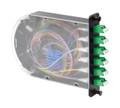 12 Fiber LC/APC Singlemode Poli-MOD Patch and Splice Module PM-L-12-ALC-0-S-01