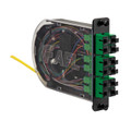 12 Fiber SC/APC Singlemode Poli-MOD Patch and Splice Module PM-L-12-ASC-0-S-01