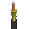 12 Fiber Multimode 50/125 OM3 Tight Buffer Indoor/Outdoor Plenum Premise Cable KQ012L701801-BIF