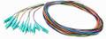Multimode LC Fiber Pigtail Kit 12 pack
