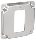 "4"" Square, 1/2"" Raised Decora / GFCI Industrial Receptacle Cover (G1947)"