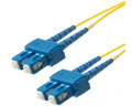 SC-SC 9/125 Singlemode Duplex Fiber Optic Patch Cords