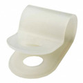 "1/4"" Nylon P-Clamp 100 pack"