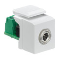 3.5mm Stereo Jack QuickPort Snap-In Module