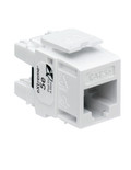 Cat5e Component-Rated QuickPort Connector White (5G110-RW5)