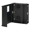 Large Wall-Mount SDX Fiber Enclosure, Empty, Solid Metal Door, Lock (5W770-N)