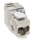 Shielded Cat 6A Jack (6S10G-S6A)
