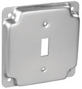 "4"" Square Raised Toggle Switch Cover"
