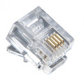 RJ11 6P4C Modular Plugs 100 Pack (MP4SR)