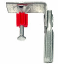"""1/4"""" Threaded Rod Hanger with Shot-Fire Bracket 100 pack (WI-ACTUATED4T)"""