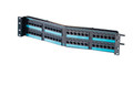 Clarity 6 Angled 48 port High Density Cat6 Patch Panel (OR-PHA66U48)