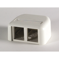 2 Port TracJack Surface Mount Outlet Box