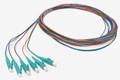 Multimode LC Fiber Pigtail Kit 6 pack