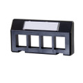 Ortronics 4 Port Keystone Furniture Plate (OR-KSFURN4-xx)