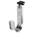 """2"""" J-Hook Cable Support with Hammer-on Beam Flange Clip 100 pack (WI-JH32HOK24)"""
