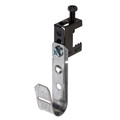 """3/4"""" J-Hook Cable Support with Hammer-on Beam Flange Clip (WI-JH12SSBC)"""