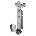 """1 5/16"""" J-Hook Cable Support with Hammer-on Beam Flange Clip  (WI-JH21ACM24)"""