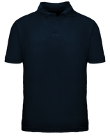 Short Sleeve School Uniform Polo - Navy