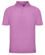Short Sleeve School Uniform Polo - Pink
