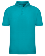 Short Sleeve School Uniform Polo - Teal