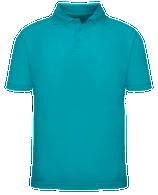 Short Sleeve School Uniform Polo - Teal