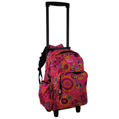 Rolling Backpack - Pink