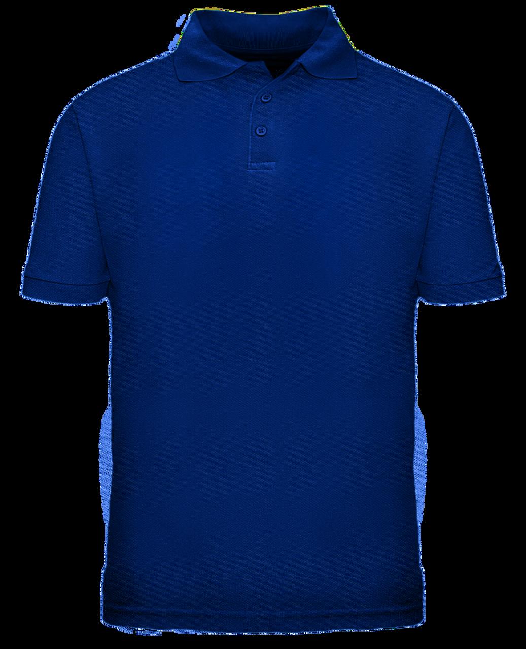 c5049627a ... Short Sleeve School Uniform Polo - Royal. Image 1. Click to enlarge