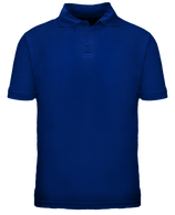 Short Sleeve School Uniform Polo - Royal