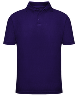 Short Sleeve School Uniform Polo - Purple