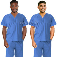Scrub 2-pc set for men - unisex